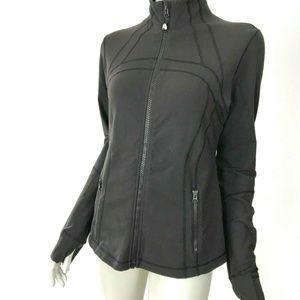Lululemon Brown Define Jacket Pockets Womens 12